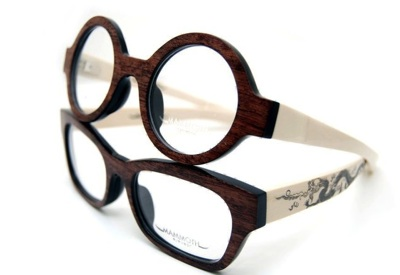 Contoh kacamata frame tulang