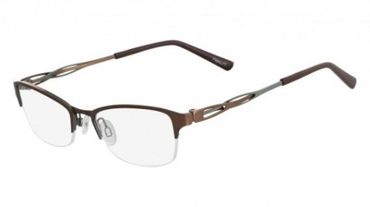 Contoh kacamata dari frame Flexon