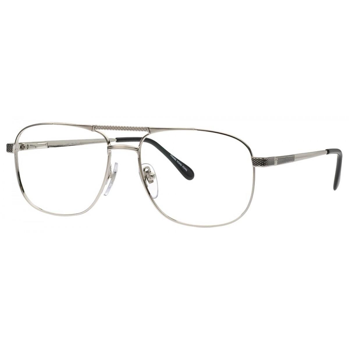 Contoh kacamata frame silver